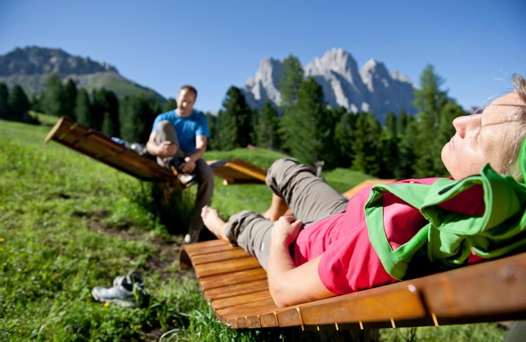 Wanderung Dolomitental Villnöss - Herrliche Aussicht