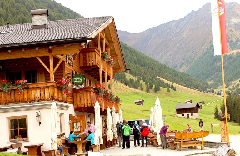 Wanderung Altfasstal - Großberghütte