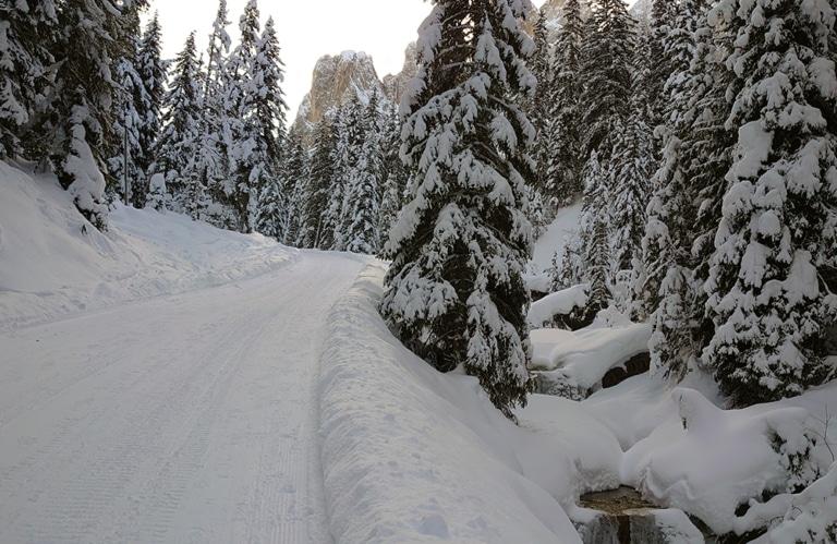 Winterwanderung Villnösser Alm