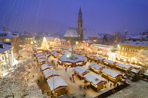 Advent in der Kurstadt Meran  –  Landeshauptstadt Bozen