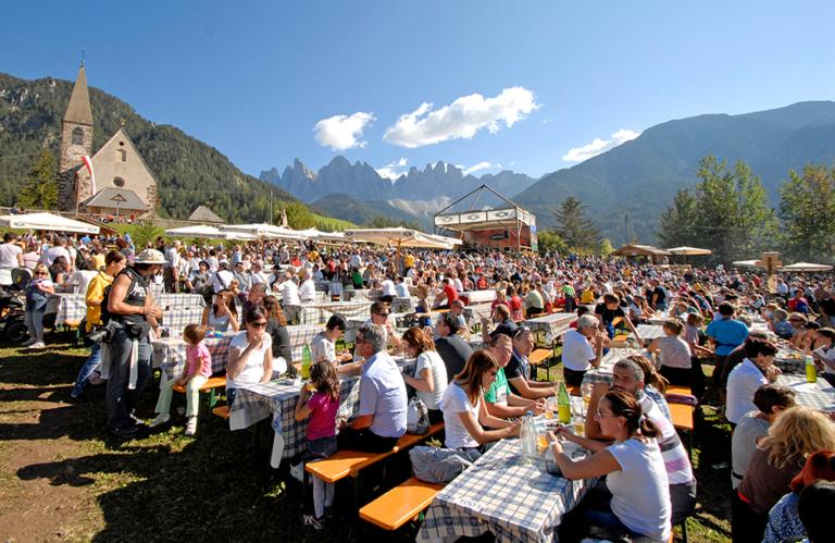 Speckfest im Villnösser Tal