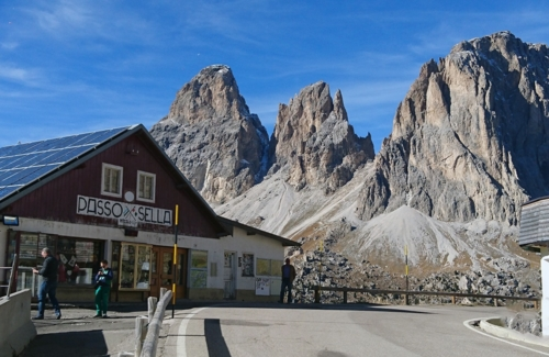 Dolomitenpass-Sellajoch