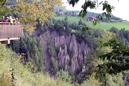 Erdpyramiden Ritten und mit der Bergbahn aufs Rittnerhorn