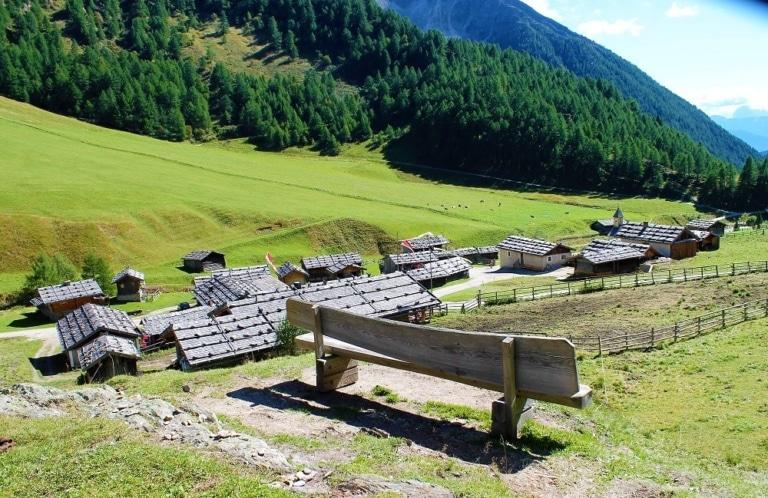 Südtirol Fanealm Wandern