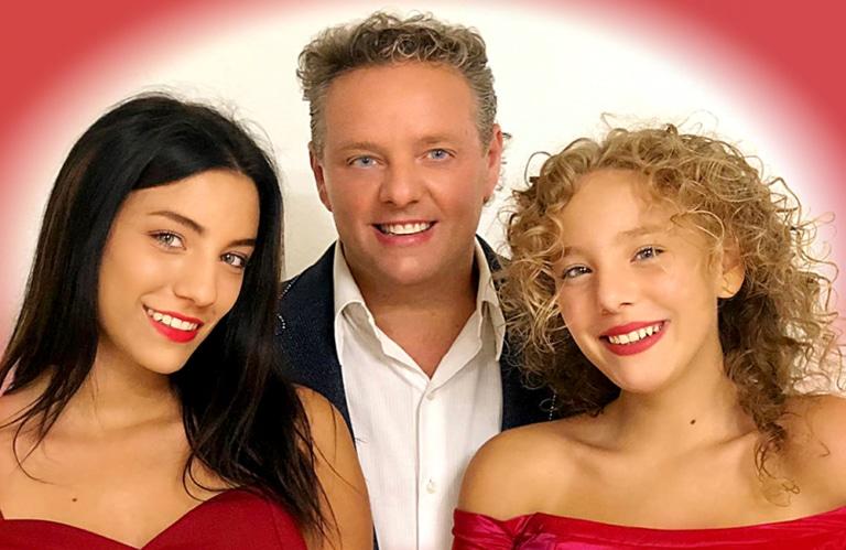 Graziano mit seine Töchter Roberta & Beatrice