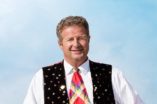 Norbert Rier von den Kastelruther Spatzen