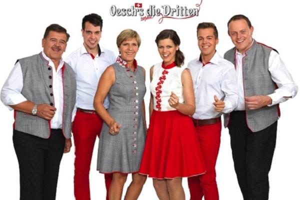 Osch´s die Dritten Musikgruppe aus der Schweiz in Südtirol