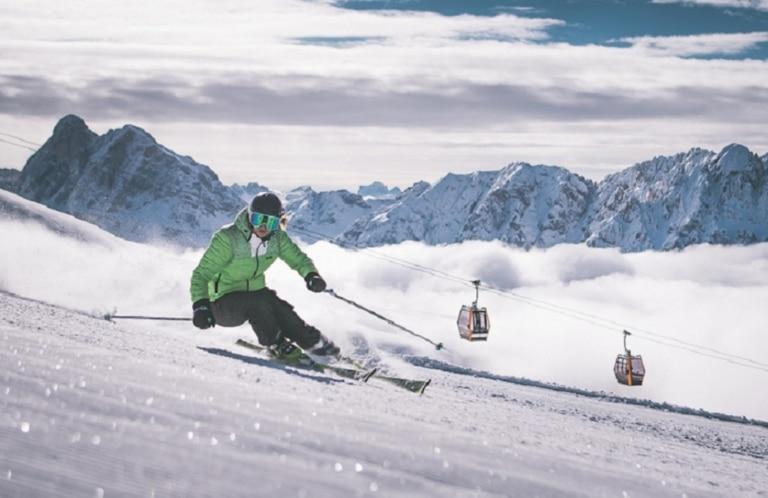 Skifahren Plose