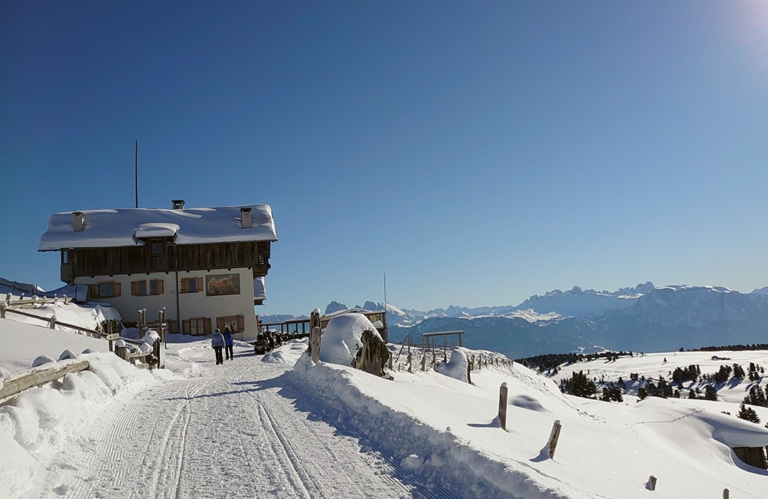 Winterwanderung Villanderer Alm - Stöfflhütte