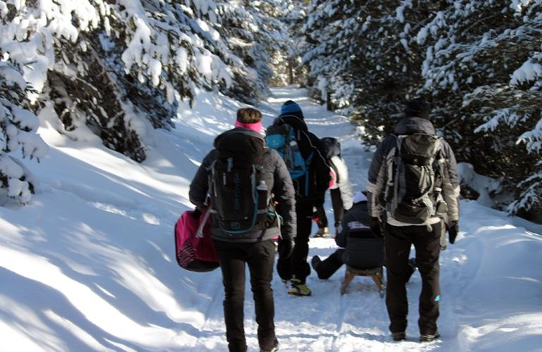Winterwanderung Rodeneckeralm