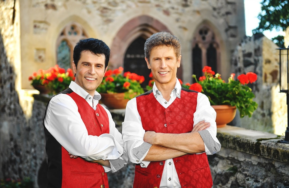Alpenrosenfest in Meransen Vincent & Fernando Südtirol Konzerte Musikreisen Südtirol