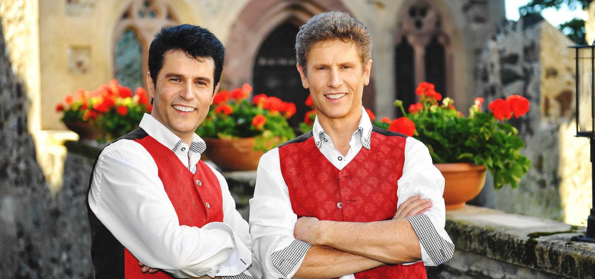Vincent & Fernando Südtirol Hotels Gruppenreisen Konzerte Musikreisen