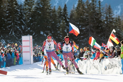Biathlon Antholz  – Januar 2022