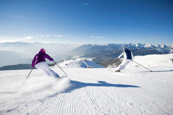 Winterreisen Südtirol Skifahren