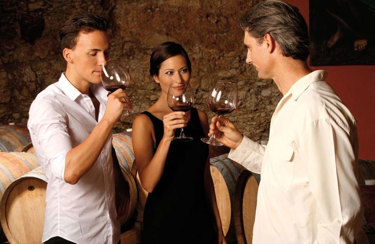 Südtiroler Wein - Weinverkostung